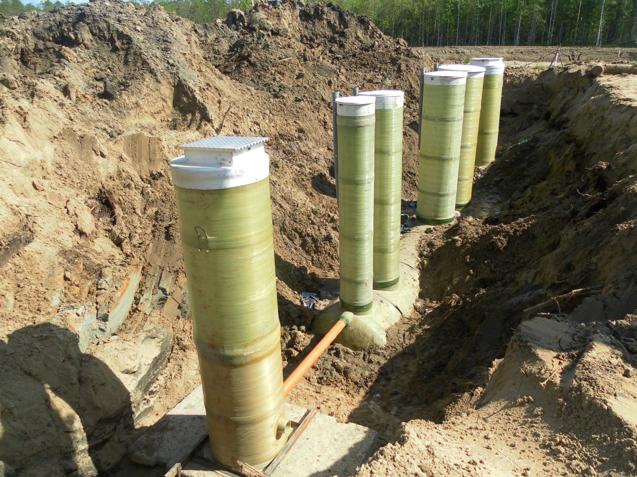 2011 — Канализационные очистные сооружения 25 м3-час (Линейное)